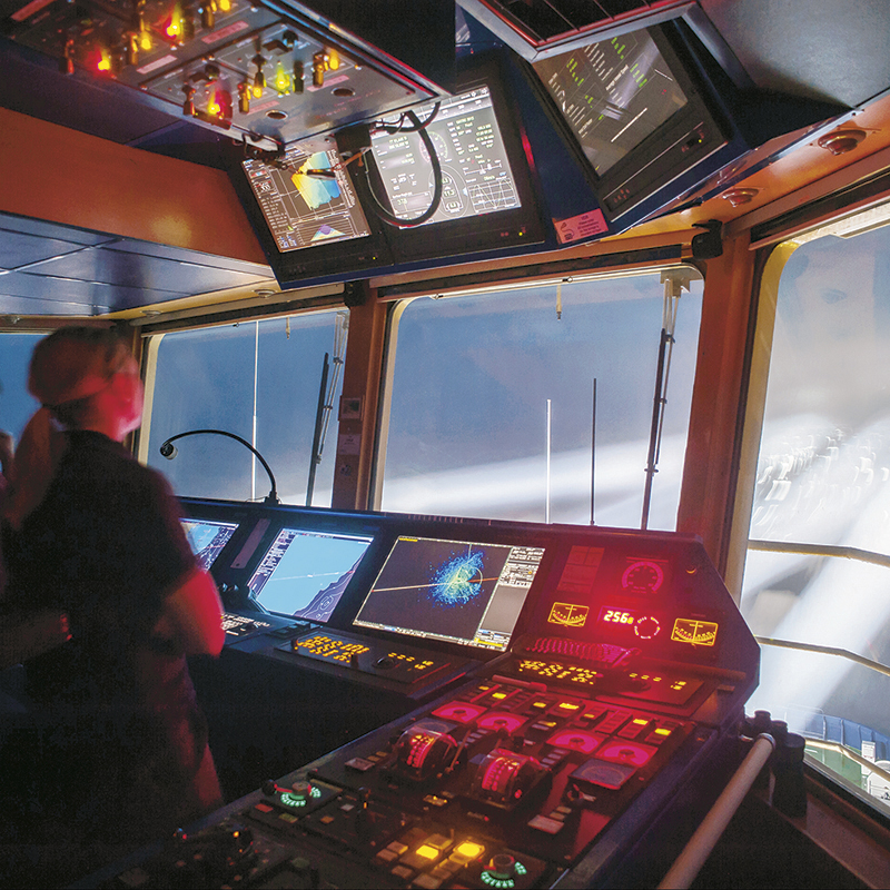 STM services to 300 ships